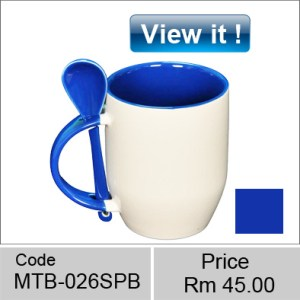 Ceramic color spoon mug Combination of Colors