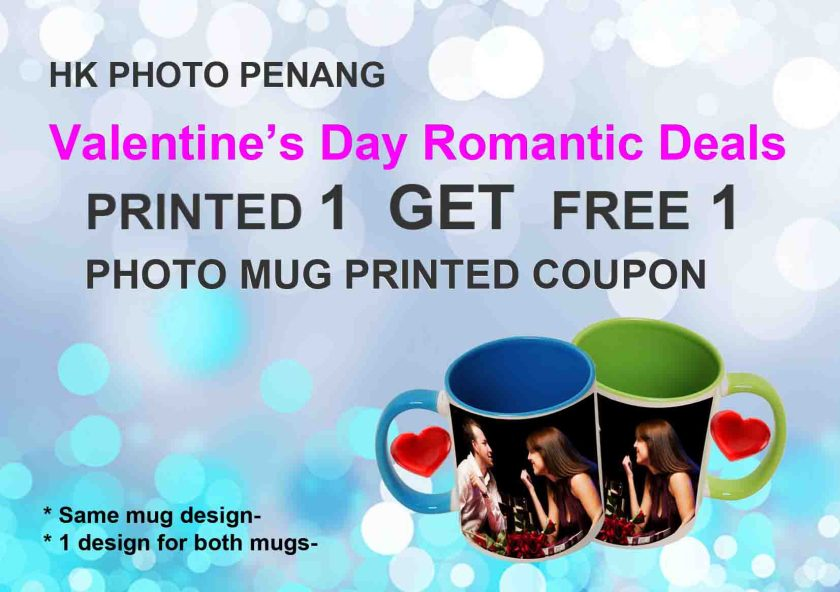 Valentines days buy 1 get free 1 in penang malaysia