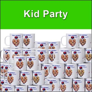 High quality kid party mugs