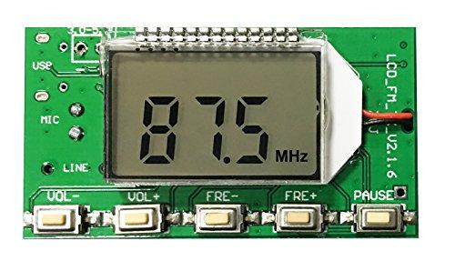 Icstation Mini Digital FM Radio Wireless Receiver Module
