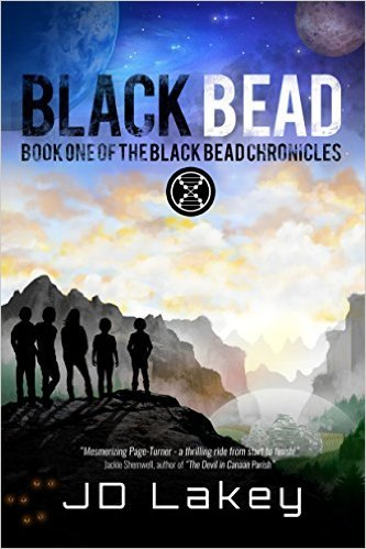 Black Bead Book Cover