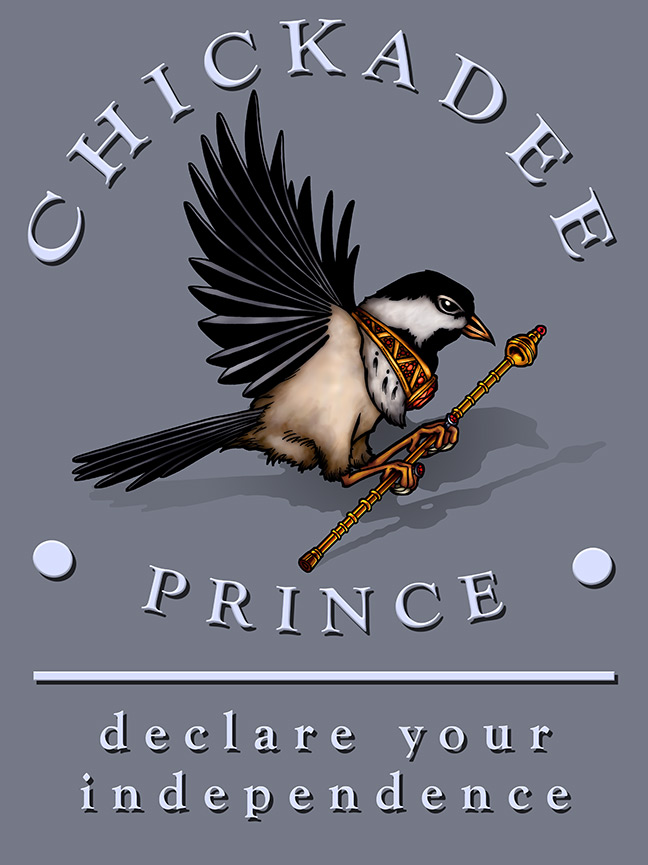 Chickadee Prince, a Small Press and Pop-up Bookstore