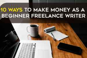 10 ways to make money as freelancer