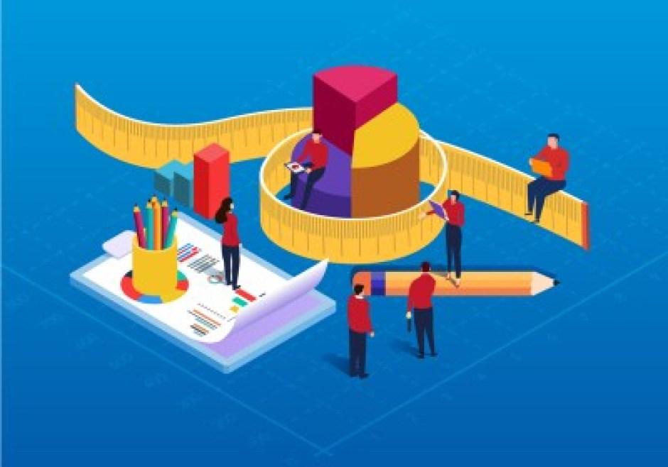 a cartoon depicting PPC metrics tracking