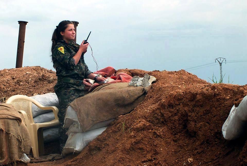 #Rojava_2: Das ist eben Krieg, Krieg ist die Hölle