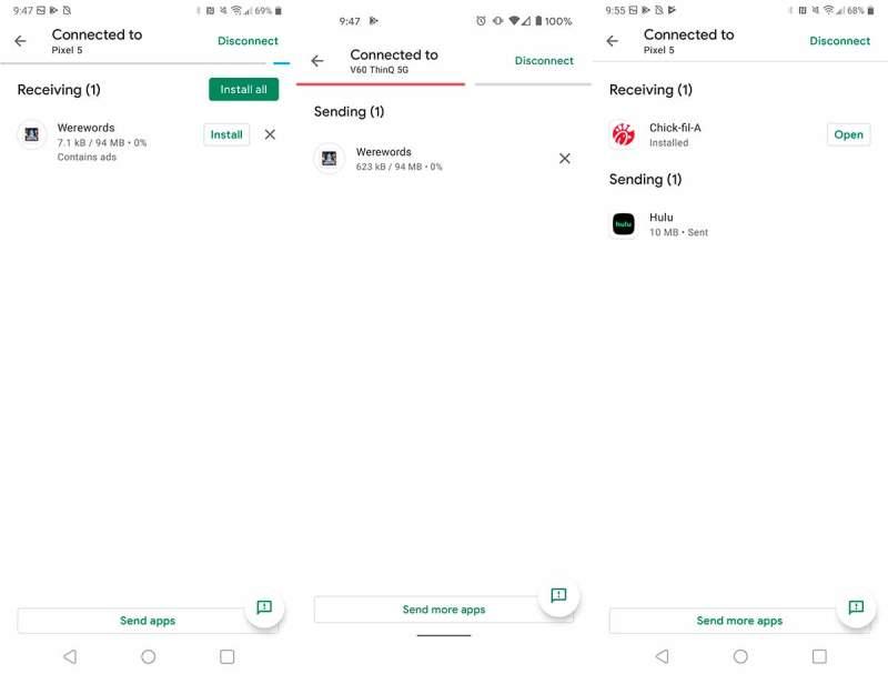 Google Play uygulamaları ve güncellemeleri yakındaki cihazlarla paylaşmaya izin verecek