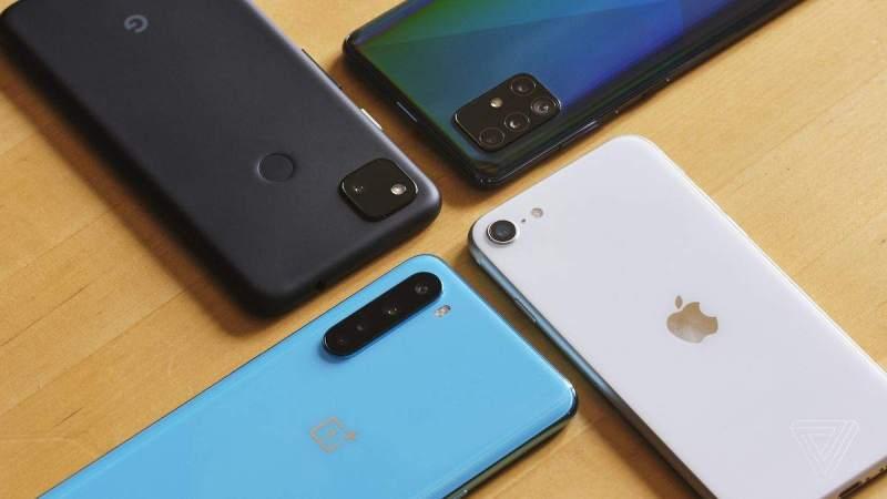 Akıllı telefon satışları 2021'in ilk çeyreğinde% 50 büyüyecek