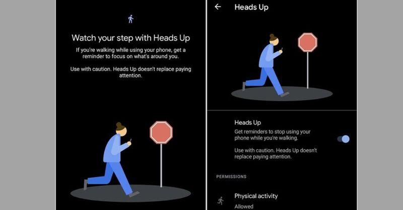 Google, yürürken telefonunuza bakmanızı engellemek için yeni Android özelliğini başlattı