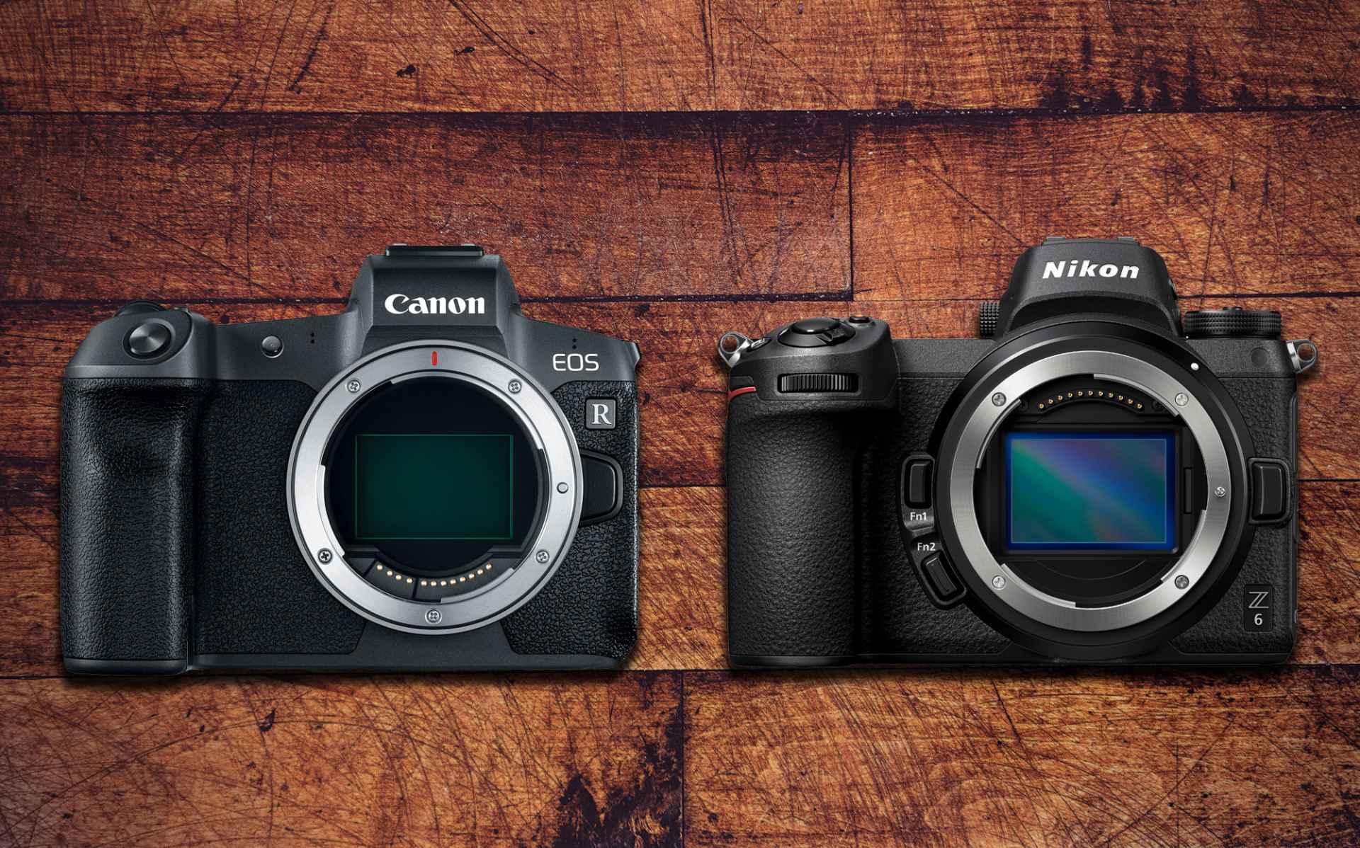 Canon Eos R Vs Nikon Z6 Digitalrev