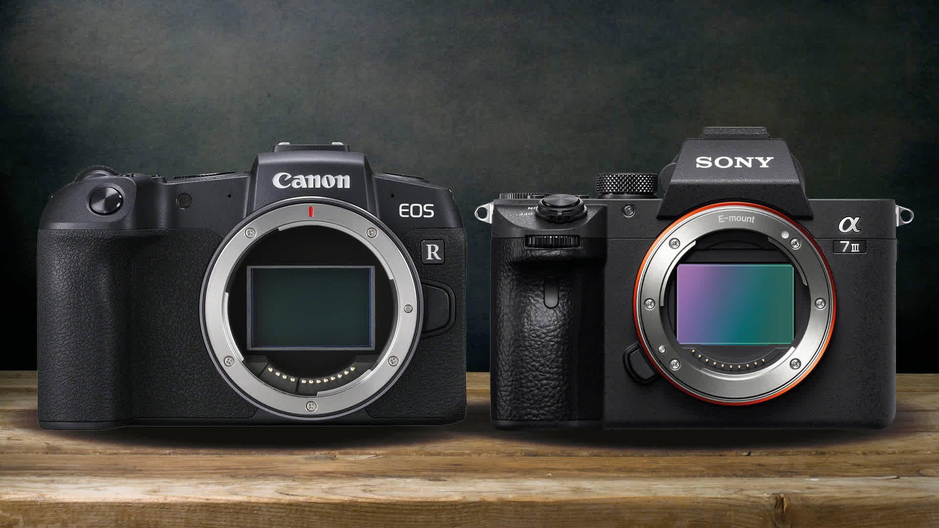 Canon Eos Rp V Sony A7iii Digitalrev
