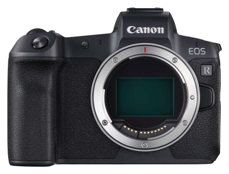 The EOS R was Canon's first full-frame mirrorless camera.