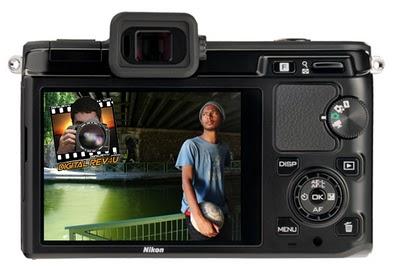 Nikon V1 back