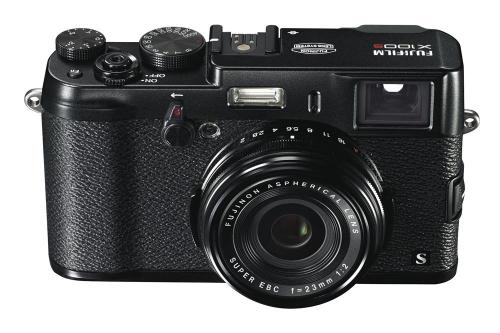 X100S_Black_Front_High_angle