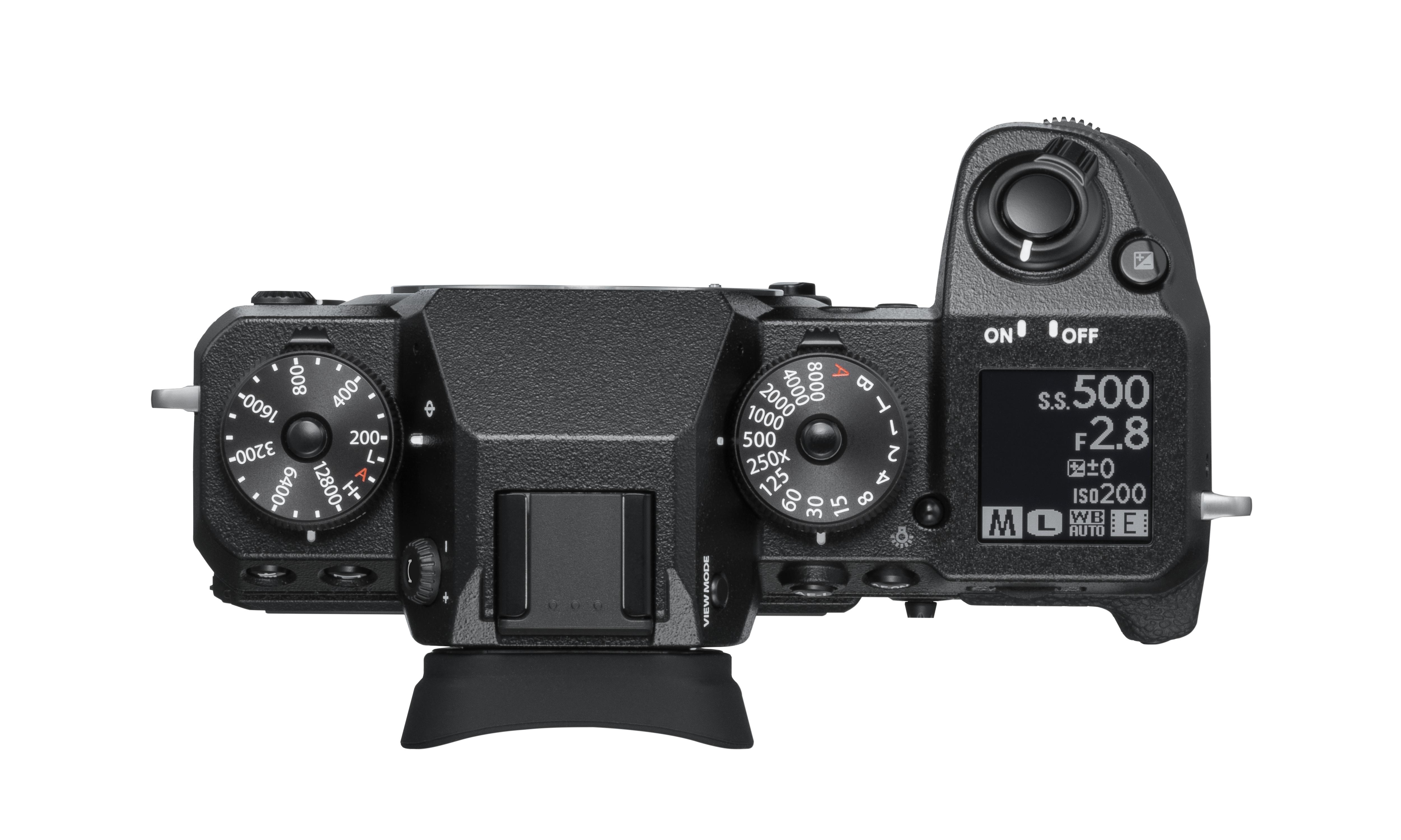 Parte superior Fujifilm X-H1