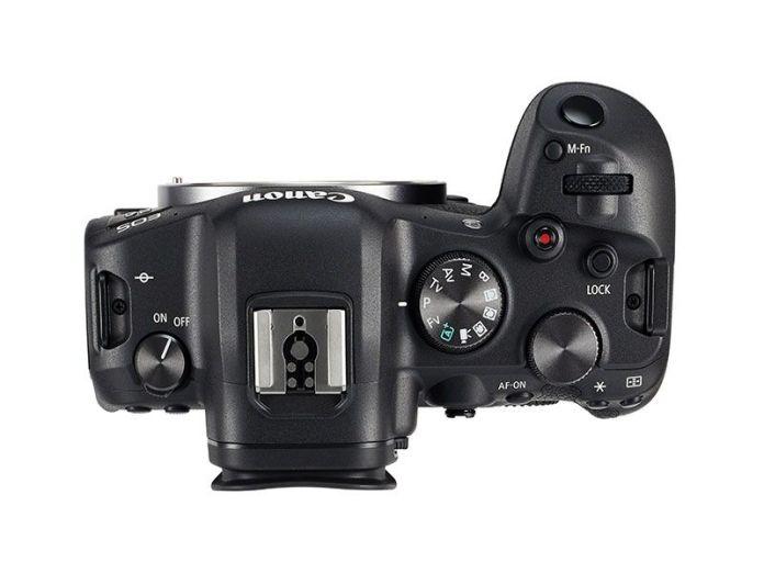 Canon EOS R6 vista superior