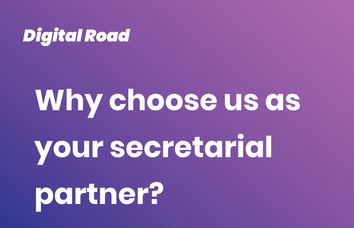 Why choose us as your secretarial partner?