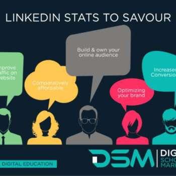 DSM Digital school of marketing - why linkedin