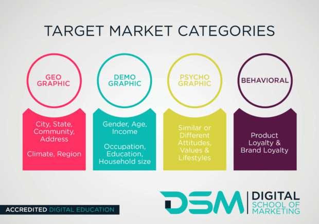 DSM Digital school of marketing - segmenting your audience