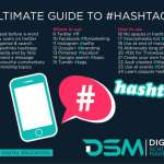 DSM Digital school of marketing - sponsored hashtag