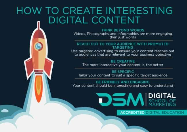 DSM Digital school of marketing - becoming a digital copywriting guru