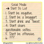 Do's & Don'ts When Using Social Media for Personal Branding & the Job Search