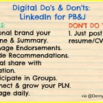 Do's & Don'ts When Using LinkedIn for Personal Branding & Job Search