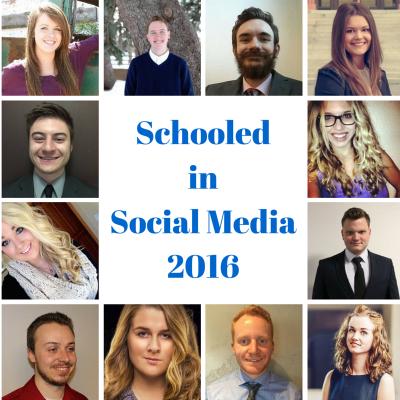 schooled in social media 2016