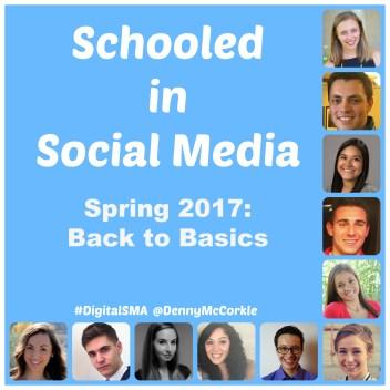 schooled in social media 2017