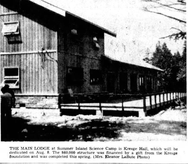 The Lodge at Big Summer Island, Fairport, Michigan