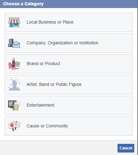 how to follow a business page on facebook