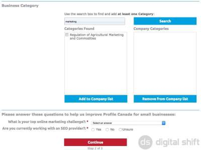 How To List Your Business On Profile Canada 3