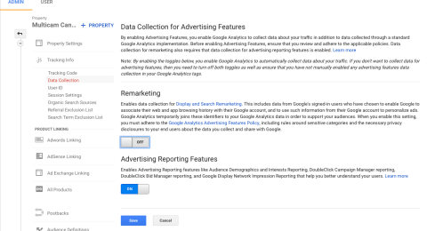 Did You Enable Google AdWords Remarketing in Google Analytics?