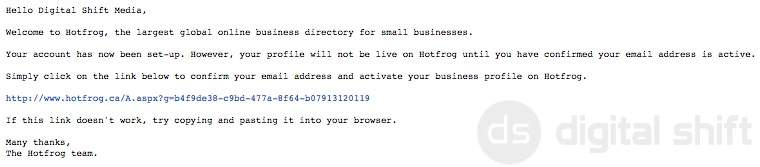 How to add your business to HotFrog.ca7