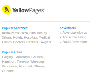How to add your listing to yellowpages.ca-1