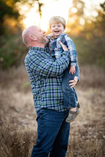Chad Barnes & His Youngest Son, Hudson