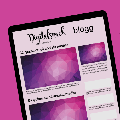 Header blogg - Digitalsnack social mediebyrå