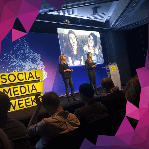 Digitalsnack på social mediaweek London Generation Z