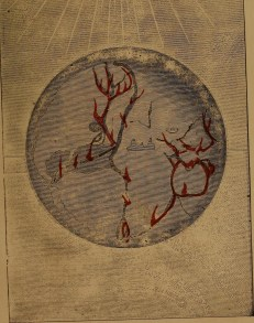 """""""Fountains of the deep broken up"""" illustration from """"God in nature and revelation"""" (1875)"""