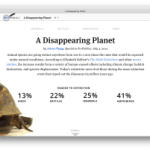 The Disappearing Planet: Comparing the Extinction Rates of Animals