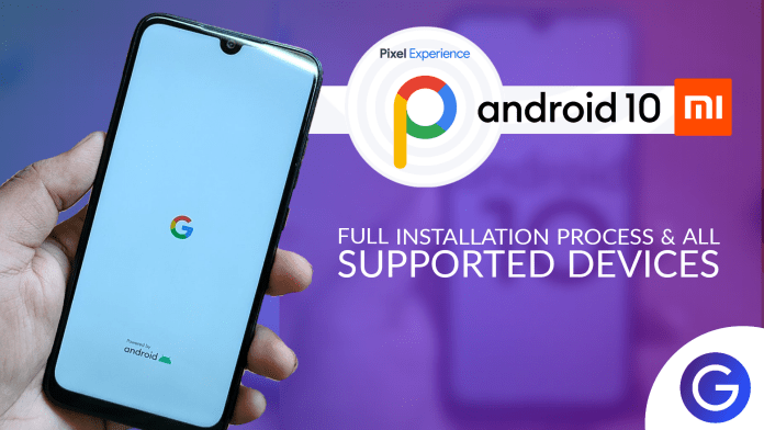 Pixel Experience ROM Android Q