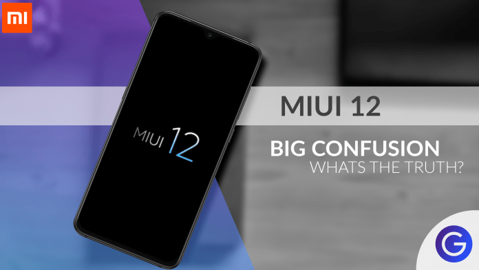 Official MIUI 12 Coming Soon