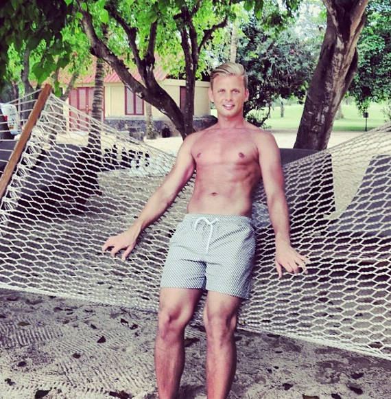 Jeff Brazier Shares Sexy Shirtless Holiday Snaps
