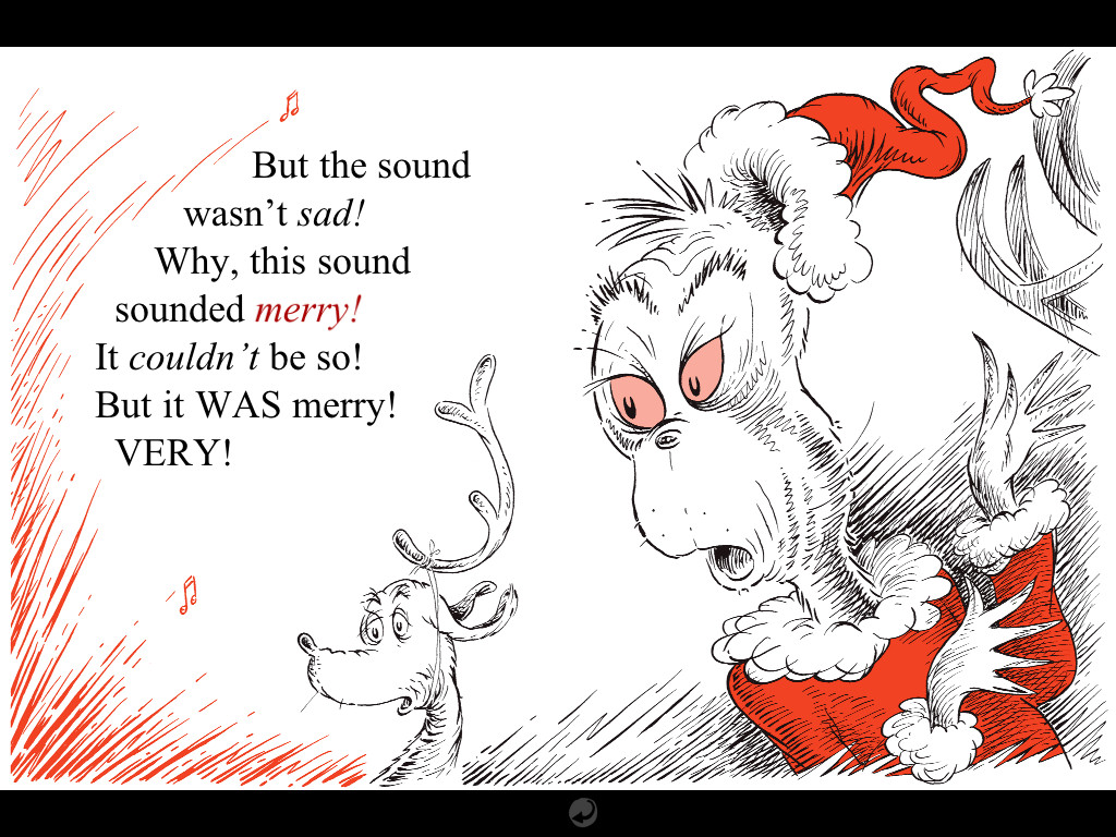 Dr Seuss How The Grinch Stole Christmas Is Jumping