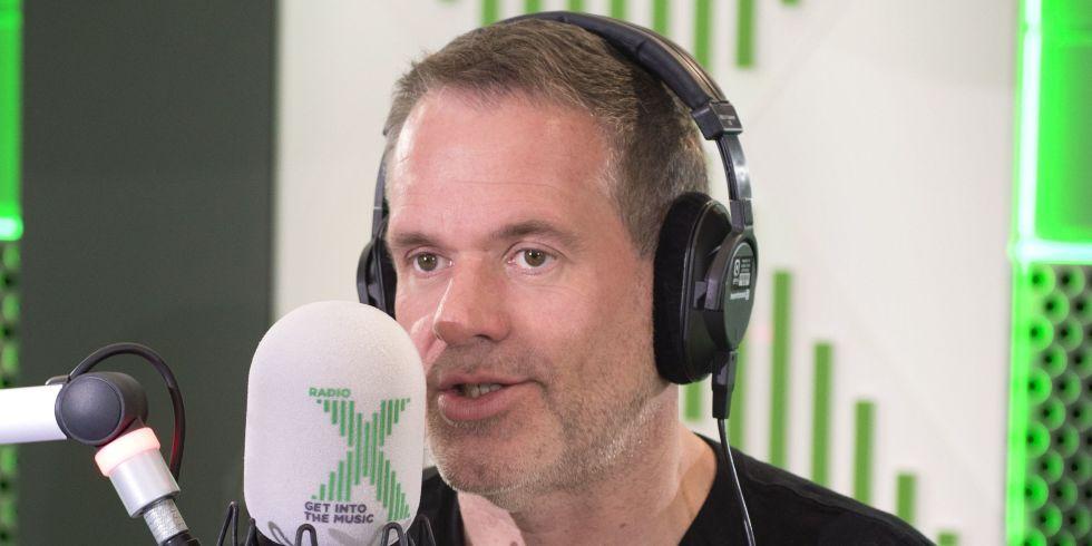 Chris Moyes kicks off his first breakfast show on Radio X