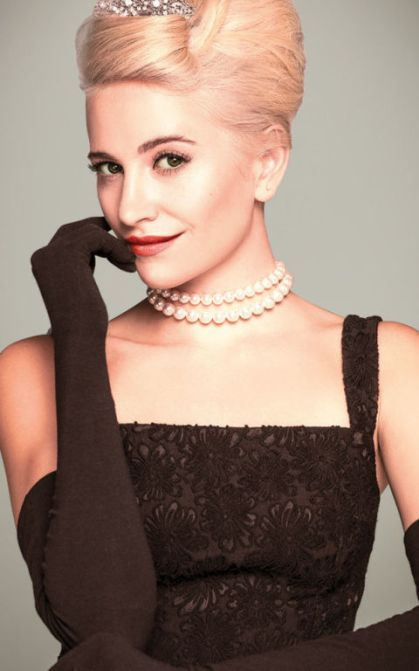 Image result for pixie lott as holly golightly