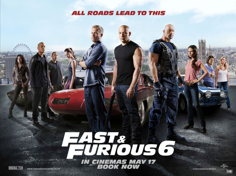 Fast and Furious timeline     how to watch the franchise in     Fast   Furious 6 poster