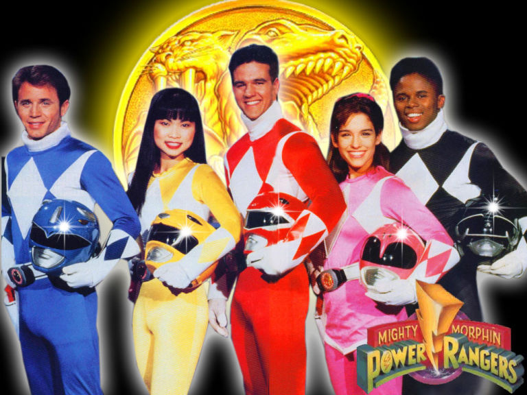 Image result for original mighty morphin power rangers