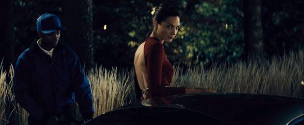 Gal Gadot as Wonder Woman in the final Batman v Superman trailer