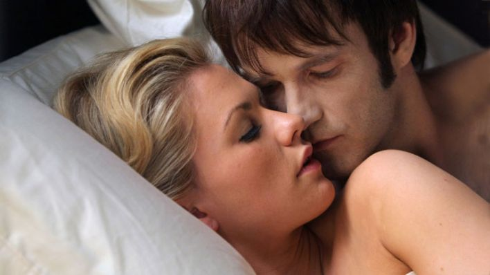 Sookie and Bill in True Blood