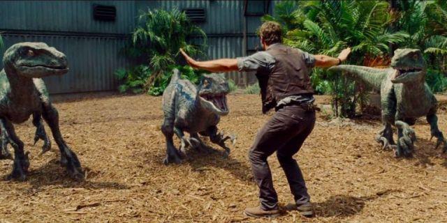 Chris Pratt en el mundo jurásico